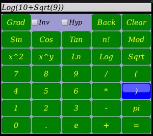La calculadora cuenta con todas las funciones de las calculadoras